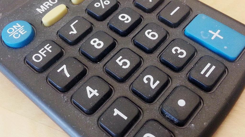 Miniräknare.