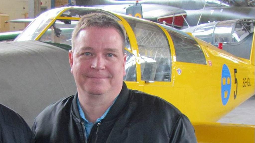 Anders Gärdström, tf vd på Västerås flygplats