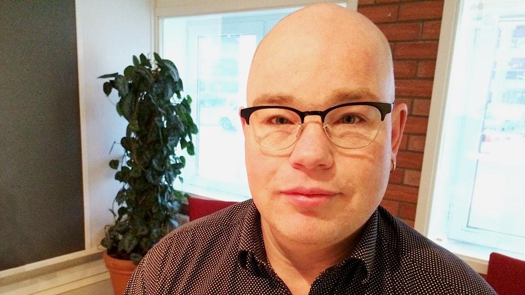 Peter Fundberg, ombudsman på Handels i Västerås.