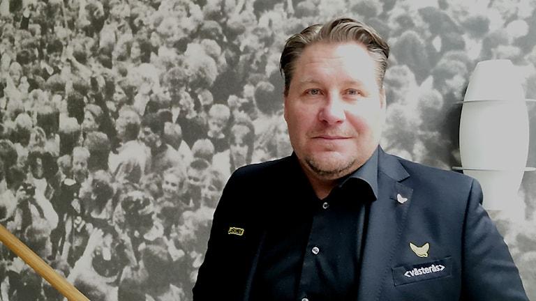 Andreas Appelgren, sportchef i VIK Hockey.