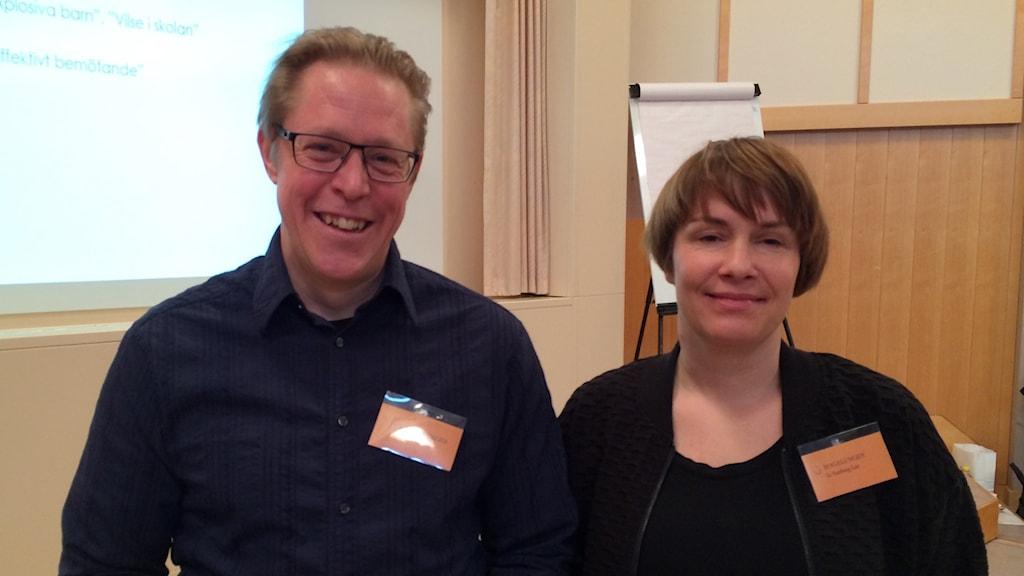 Peter Friberg, psykolog och utbildningsansvarig på Akademi Magelungen som jobbar just med hemmasittare.