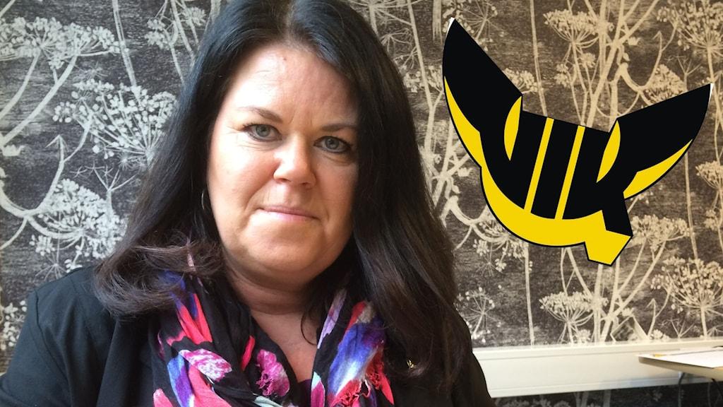 Camilla Törngren ordförande VIK Hockey
