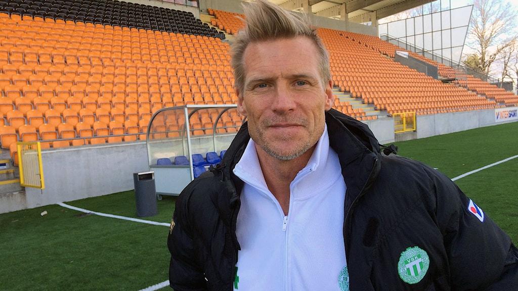 VSK Fotbolls manager Johan Mjällby.