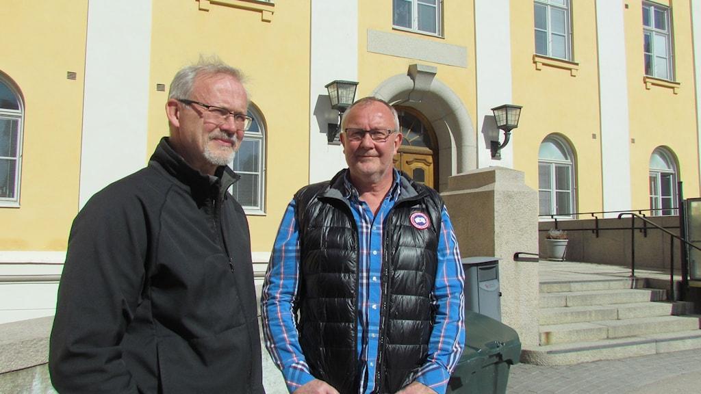Christer Humle och Stefan Nääf i Fysioterapeuterna i Västmanland.