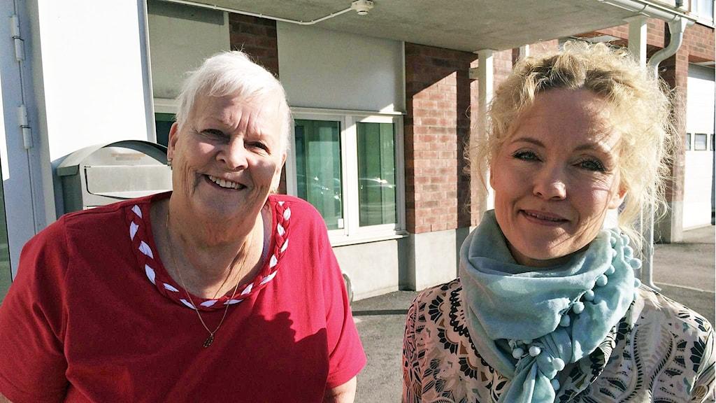 Kerstin Hemström (t.v.) och Ylva-Li Lindahl.