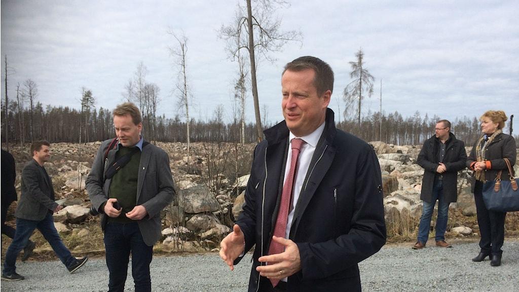Anders Ygeman (S) Skogsbrandsområdet