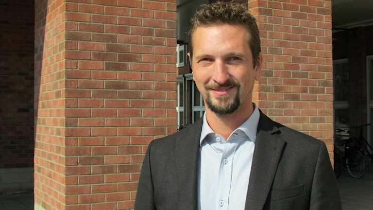 Joakim Sköldhammar från företaget Kulthammar.
