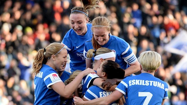 Eskilstuna United är en toppklubb i allsvenskan.