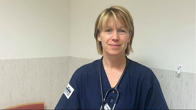 Annika Tranaeus Rowe, veterinär på djursjukhuset i Strömsholm