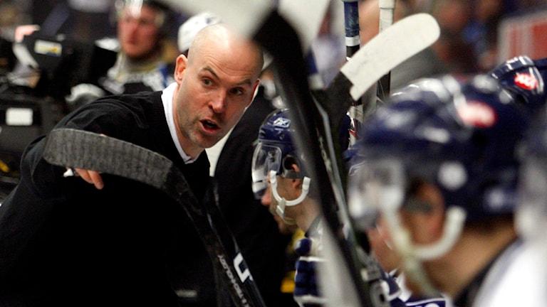 Hockeytränaren Christer Olsson