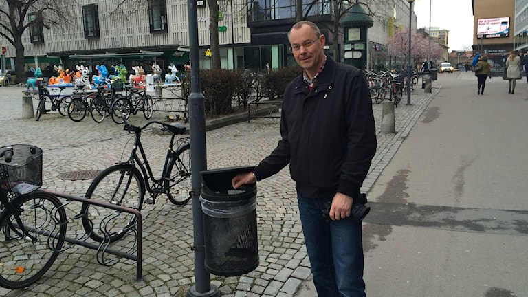 Ulf Palm, kommunikationsstrateg på Tekniska kontoret hos Västerås stad