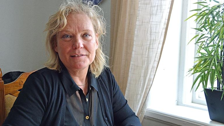 Lotta Gröning, ordföranden i Elsas Vänner i Norberg