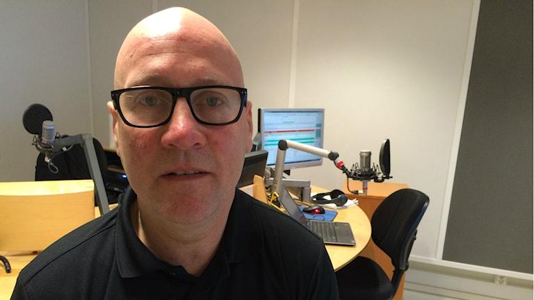 Lars Aldén, gruppchef på polisens yrkestrafikgrupp i Västerås.