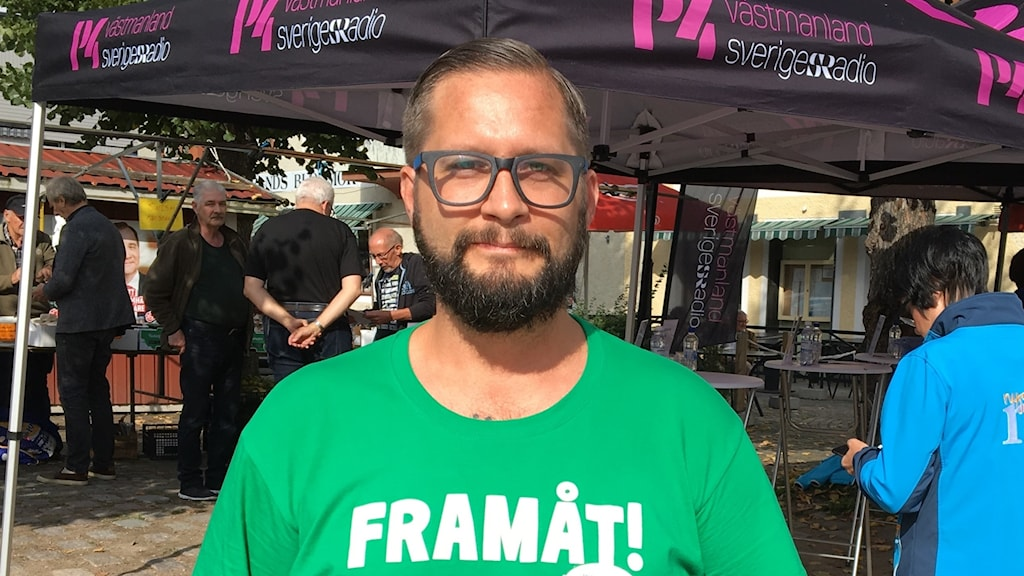 Mattias Björlestrand, Centerpartiet i Norberg.