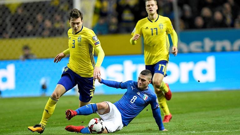 Victor Nilsson Lindelöf till vänster.