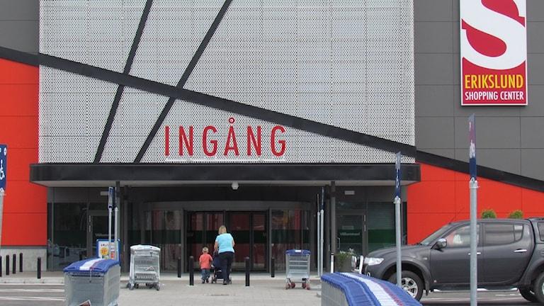 Erikslunds nya shoppingcenter. Foto: Patrik Åström.