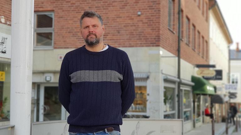 Jonas Bresser, projektledare för Kulturnatten.