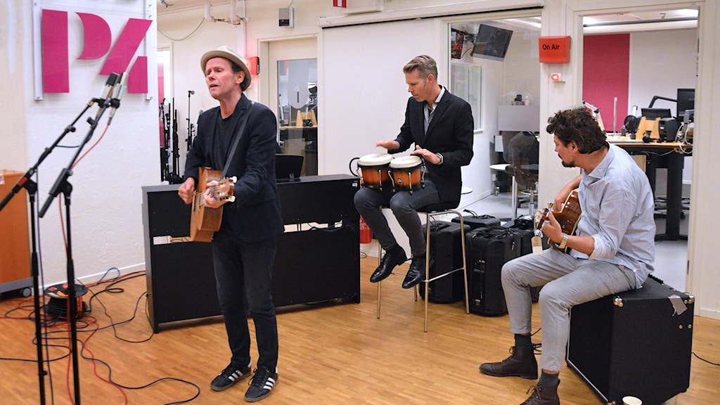 Bo Kaspers orkester live i radiohuset.