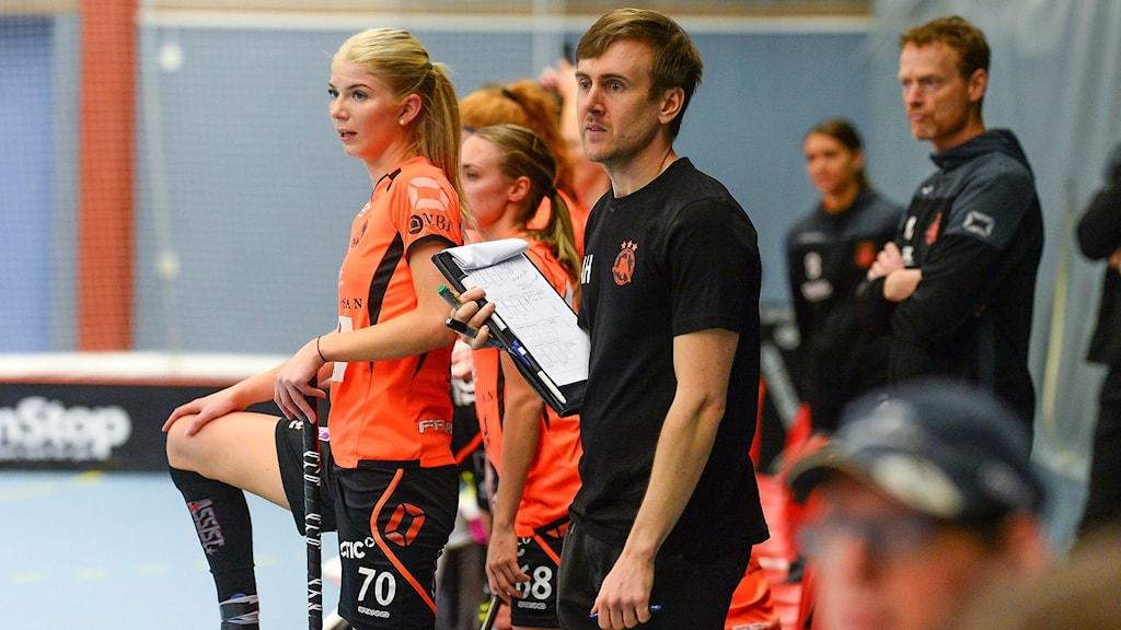 Rönnby innebandys tränare Andreas Harnesk