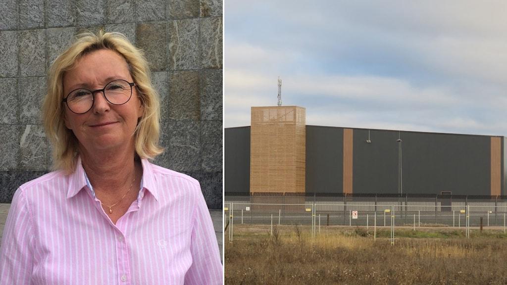 Eva Lilja, näringslivsdirektör, Västerås stad och Amazon i Västerås.