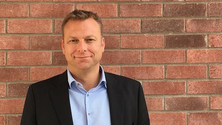 Mattias Jonson, ordförande och klubbchef i VIK.