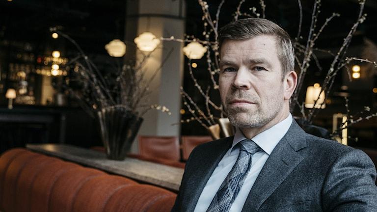 David Halldén, vd på Elite Hotels.