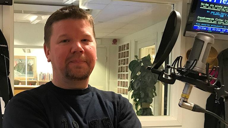 Nominerad till Glasmicken: Rallycrossföraren Niclas Härdevik Norström.