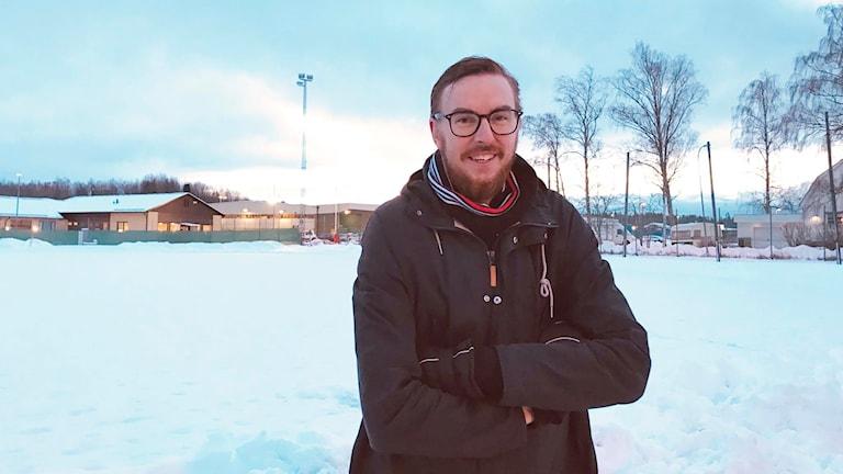 Kim Lindkvist, evenemangsansvarig för Tillberga Winter Classic.