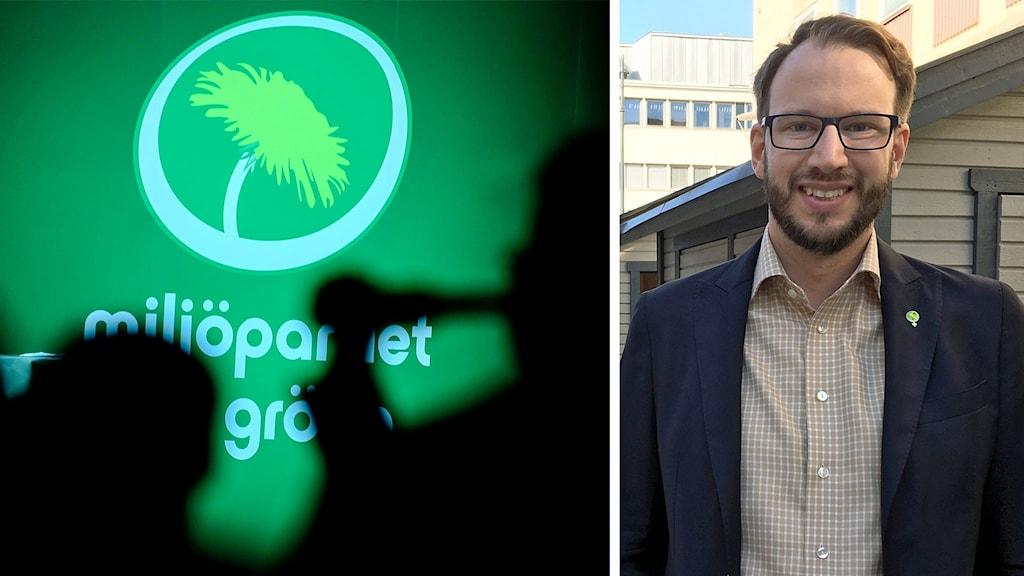 Miljöpartiet Västerås ordförande Johannes Wretljung Persson