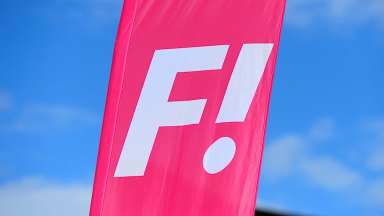 Flagga Feministiskt Initiativ