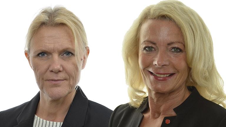 Ann-Christine From Utterstedt och Pia Nilsson