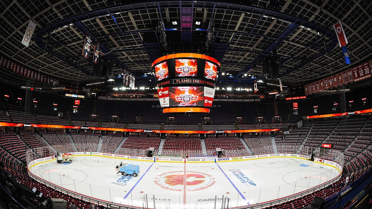 Colorado Avalanche mötte Calgary Flames.