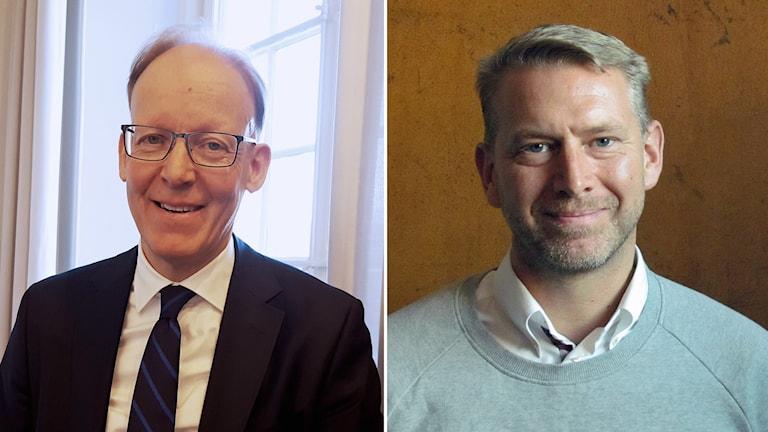 Johan Söderström och Peter Carlsson.