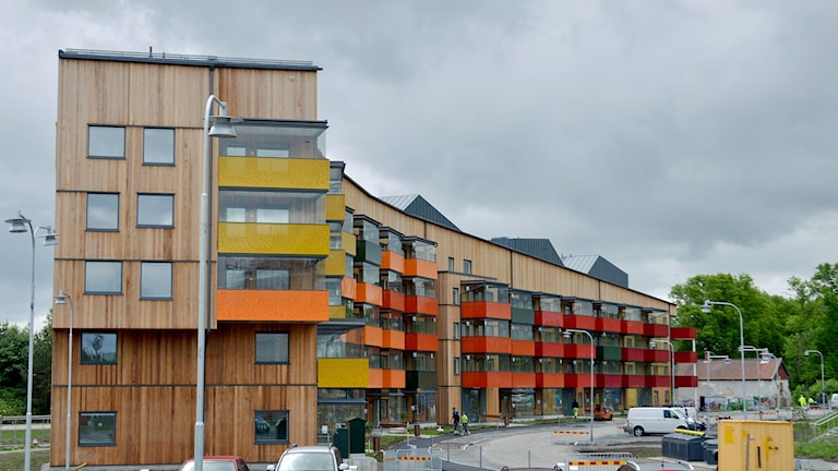 Parkflygeln på Nordanby Äng i Västerås.