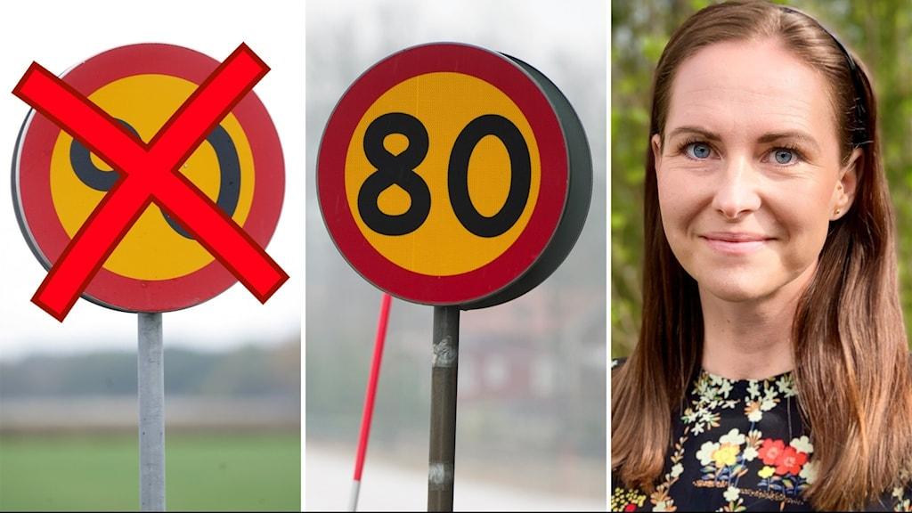 En del vägar i Västmanland ska få sänkt tillåten hastighet, berätter Trafikverkets Anne-Karin Grönvold.