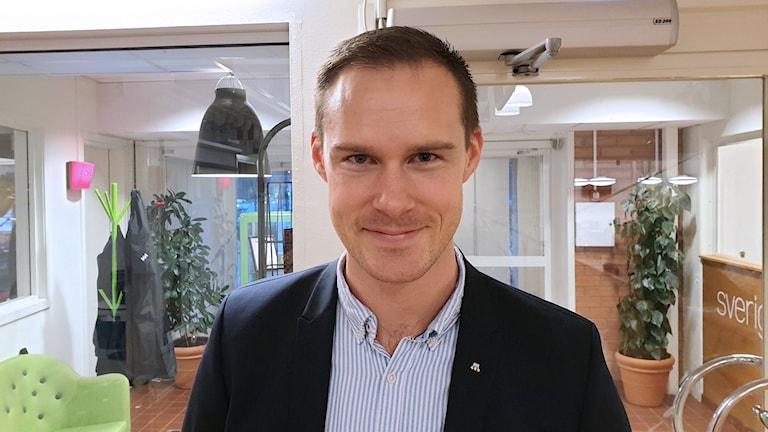 Mikael Andersson Elfgren, moderat oppositionsråd.