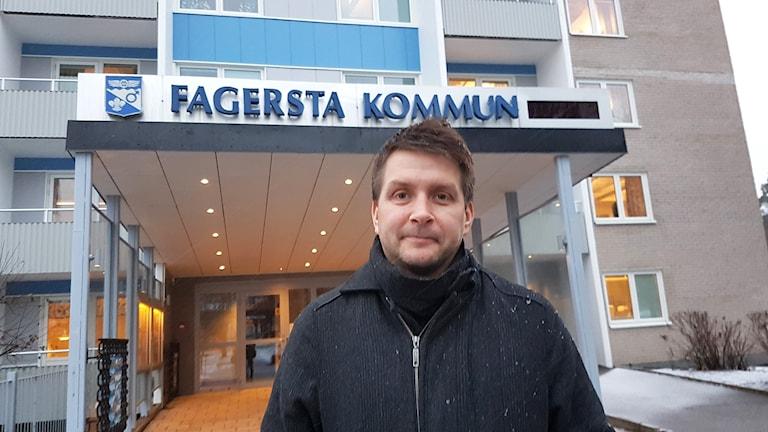 Kommunalrådet Marino Wallsten (S) i Fagersta.