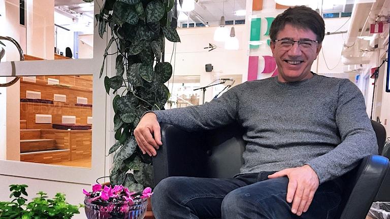 Innovatören Azad Najar, överläkare på urologen i Västerås.