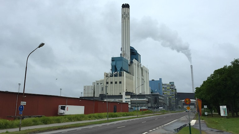 Mälarenergis kraftvärmeverk i Västerås