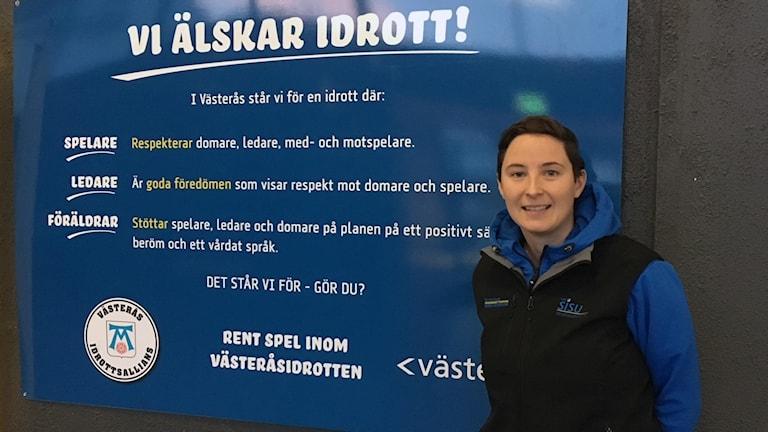 Marie Persson idrottskonsulent SISU Idrottsutbildarna.