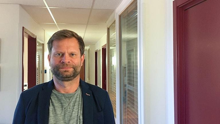 Björn Sidenhjärta förundersökningsledare vid polisens bedrägerigrupp i Västmanland