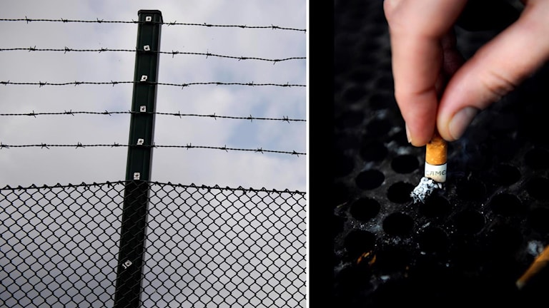 fängelse fimpar ciggen