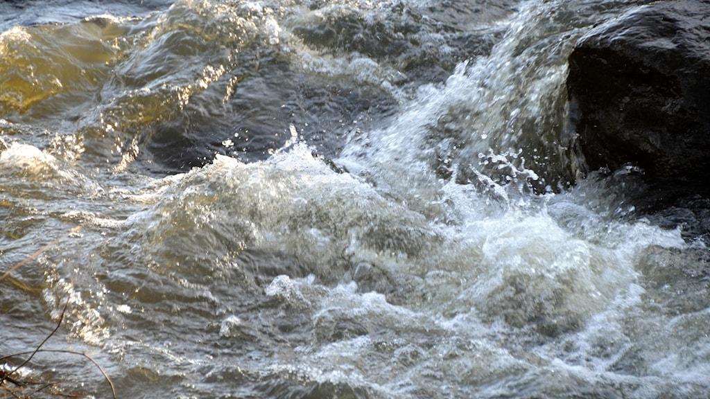 Forsande vatten.