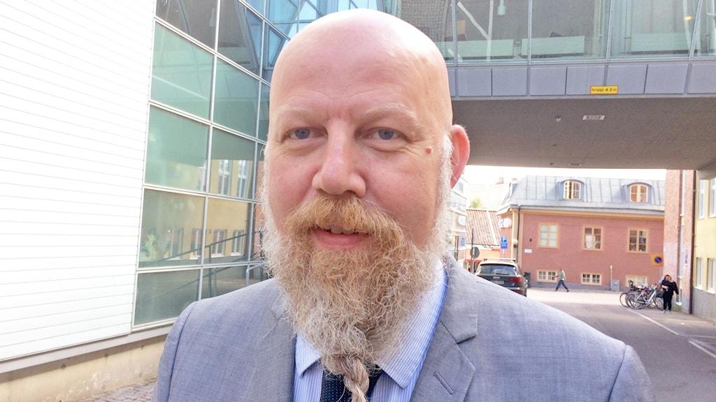 Daniel Nordström chefredaktör vid VLT i Västerås.