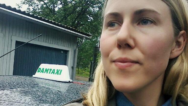 Johanna Ehde har projektet Damtaxi.