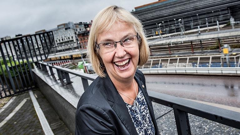 Lena Erixon generaldirektör för Trafikverket.