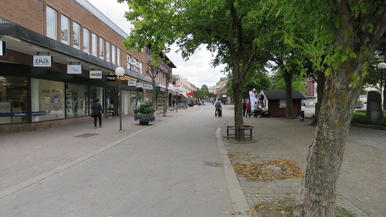Köping centrum.