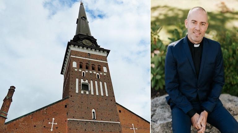 Daniel Eklund blir ny domprost i Västerås.