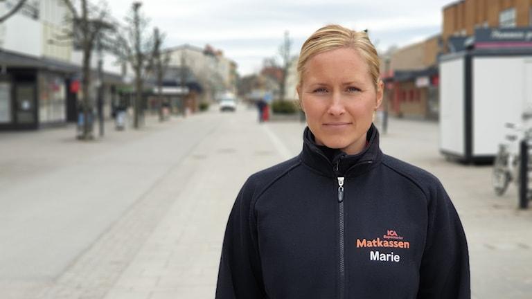 Marie Söderberg, styrelseledamot i Vi i Hallsta.