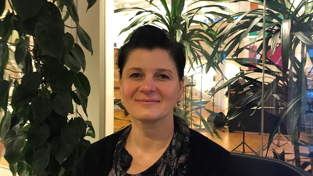 Jurgita Ravaityte Kristoffersson, samordnare på Länsstyrelsen Västmanland.